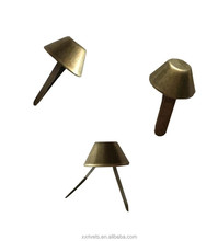 nickel-free decoration brass spike stud, Metal Revits/Snap Nails for bags