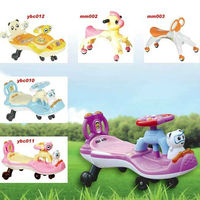 lovely music kids swing car/kids twist car/ kids car
