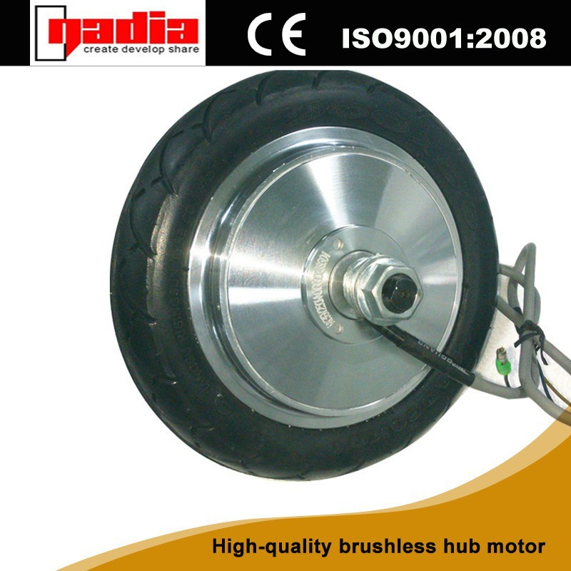 8 inch BLDC gear double shaft electric scooter hub motor