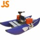 JS yacht PVC3.6m aluminium floor inflatable fishing boat for sale from China Blue JFL360
