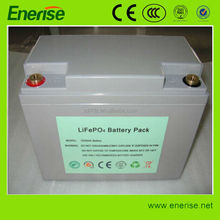 Lithium Rechargable LiFePO4 Battery Pack 12V 55AH with BMS