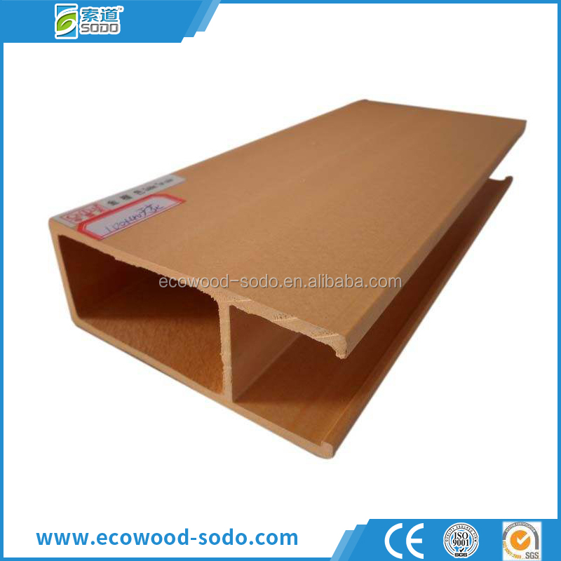 water-proof termite resistant fashion pvc wood composite ceiling