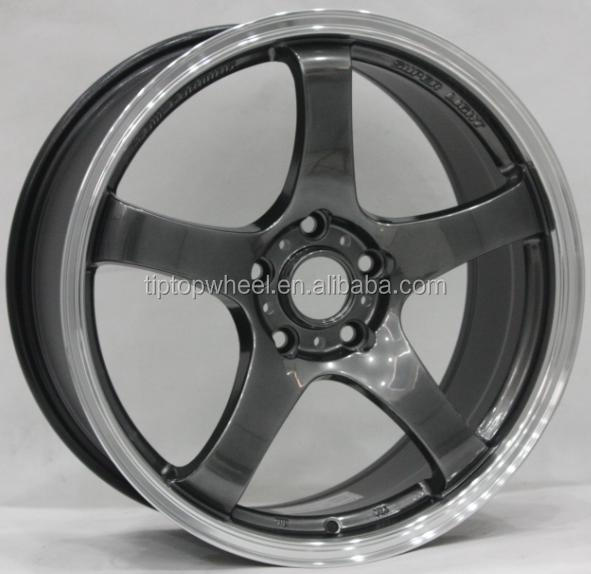 Guangzhou wholesale wheels 18 inch HOT SALES rims wheels for VOLK TE37 alloy wheel