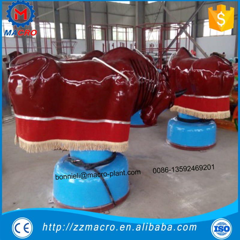 Most crazy cow meet CE inflatable bull riding machine