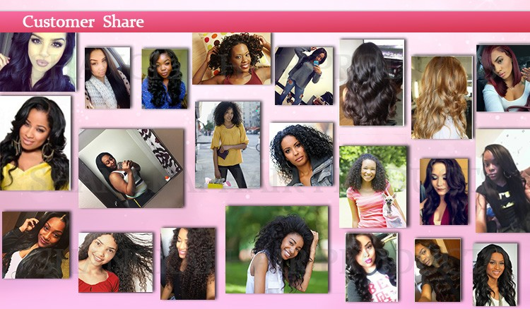 Virgin Brazilian Hair full lace wig and lace frontal wig