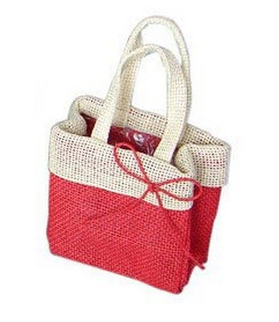 Flower Packaging bag in Jute MLG