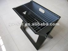 Portable expandable charcoal bbq grill