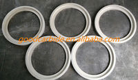Tungsten carbide matte lapping hard metal seals