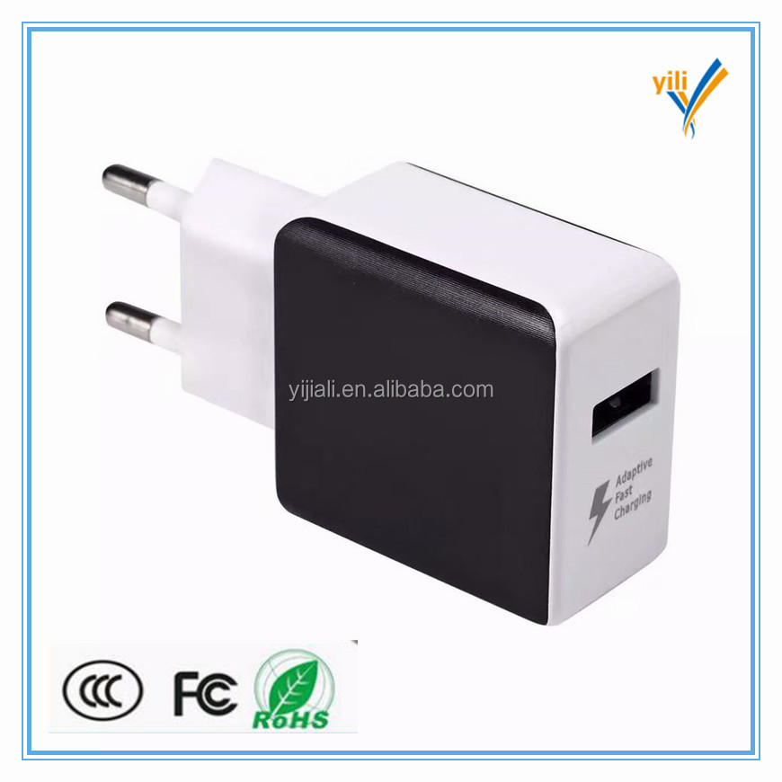 Singler usb port universal wireless mobile phone usb charger adapter for EU