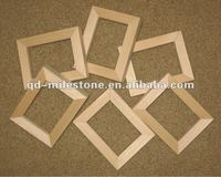2.5*3.5 inches unfinished wooden photo frame to be painted or decorated