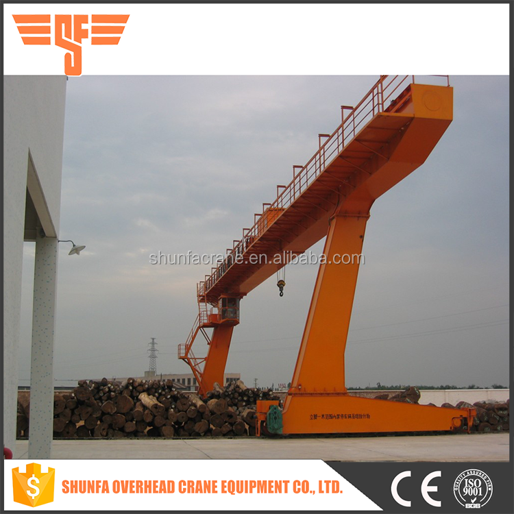 buy direct from china wholesale 20t single girder mobile gantry crane