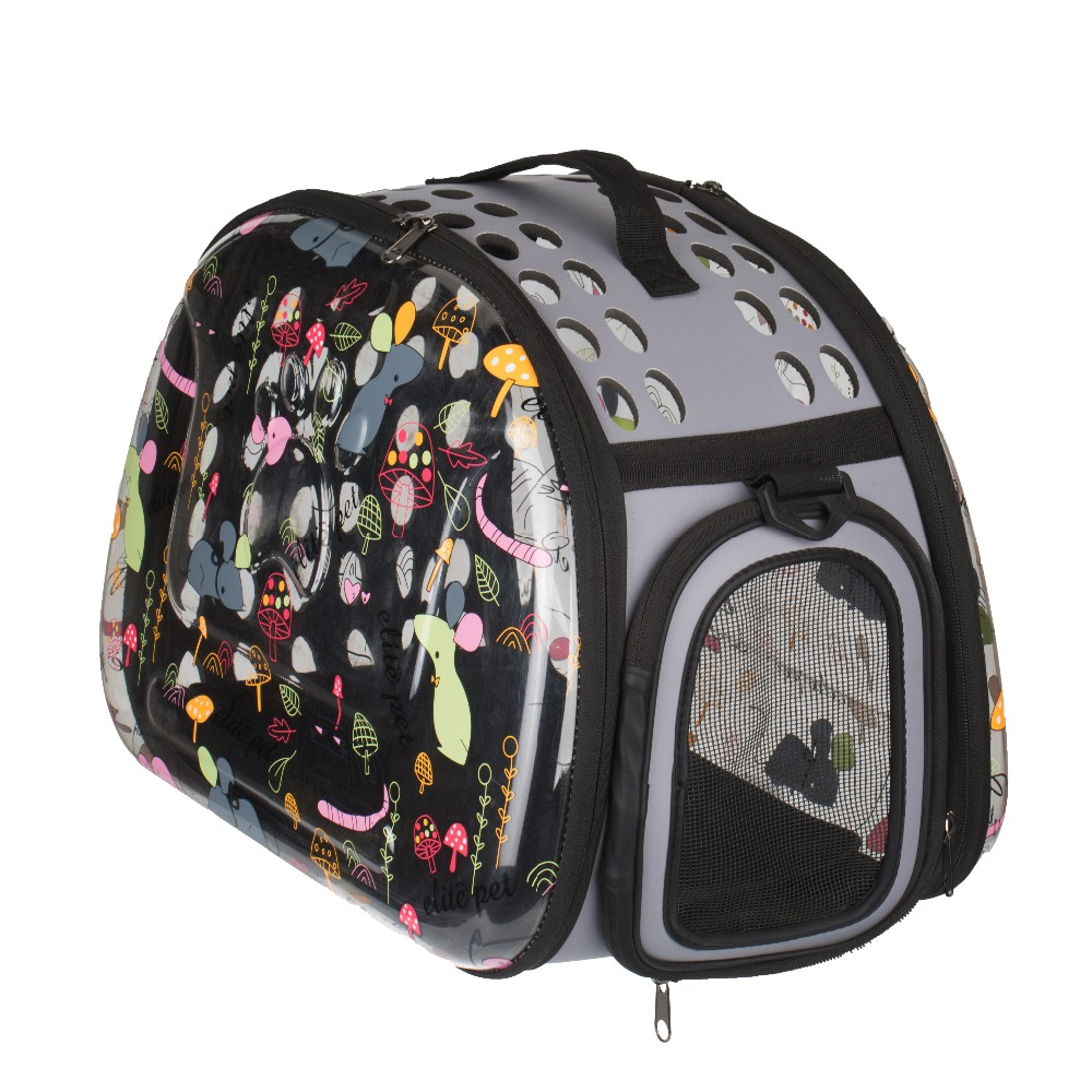 Portable Foldable Travel Pet Carrier Bags Airline Approved Tote Bag for Dogs Cats Small Animals
