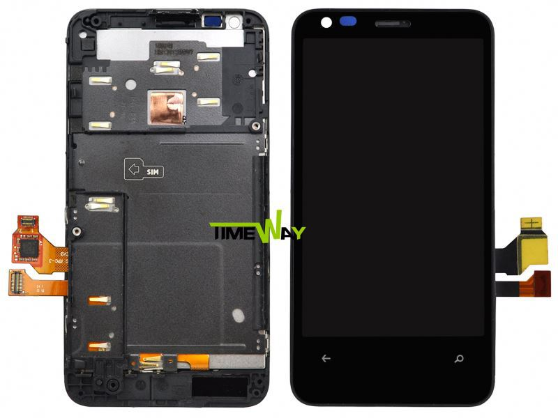 for nokia lumia 620 touch with frame mobile lcd for micromax