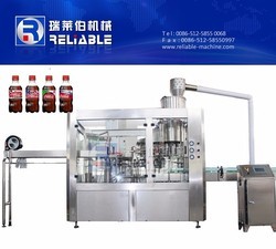 18 Heads Carbonated Dirnk Filling Capping and Labeling Machine