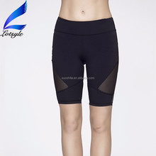 Mesh Design Women Gym Yoga Shorts Wholesale