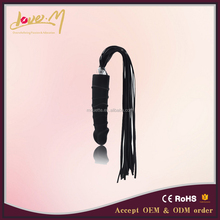 Charming mute horse tail safe silicone g string with anal plug for female