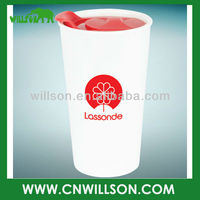 New double wall porcelain tumbler