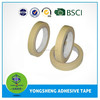 Masking colored crepe paper adhesive tape
