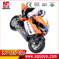 2014 Hot sale remote control toys 4CH rc motorcycle 1:10 JXD-806