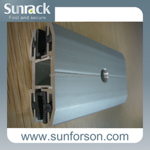 anodizing silver aluminium profile for solar panel frame