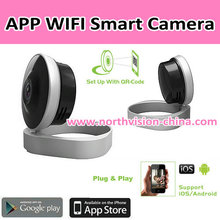 Wifi video cameras with 720P HD resolution and easy installation