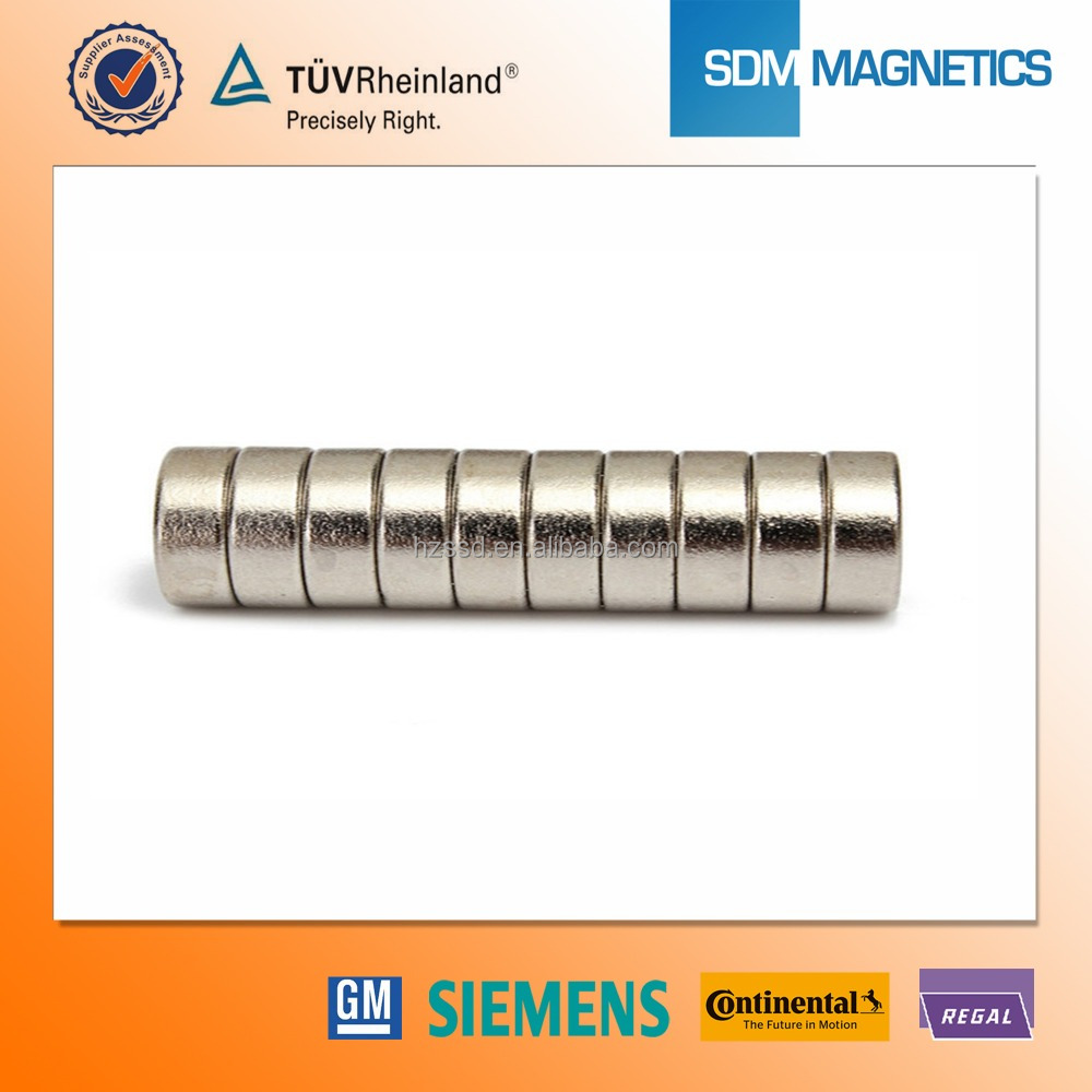 Super Strong diametrically magnetized ring magnets with Strong Magnetic