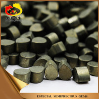Chinese pear shaped cabachon polishing natural iron pyrite for sale