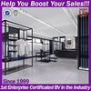 Retail high quality boutique shop display fittings