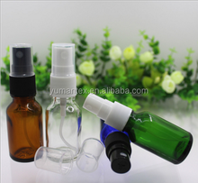 15ml Empty clear glass Perfume Spray Bottle Glass Refillable Cosmetic Liquid Water Atomizer Container Bottle
