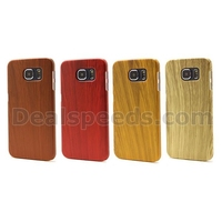 Hard Back Protective Cover Wood Grain Case for Sunsung Galaxy S6 G920