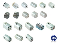 Dc motor for Household Appliances (E.g. air fresheners, water pumps, robovac, Vacuum cleaners etc.)