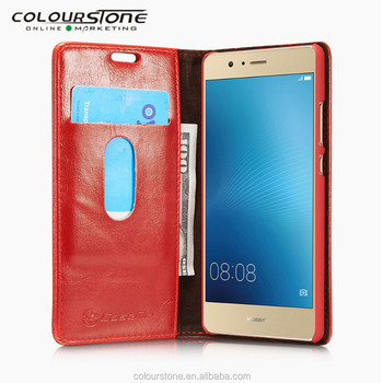 For huawei p9 case for huawei p9 wallet case with stand and card slots Wholesale case for huawei