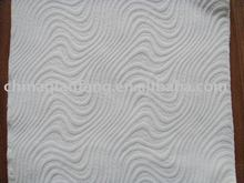 White Jacquard fabric for mattress