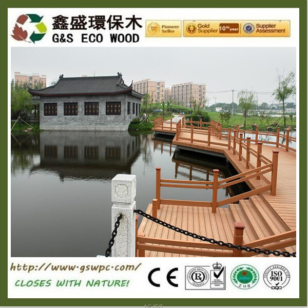 Direct Factory high quality wood plastic patio planks outdoor eco-friendly wpc decking