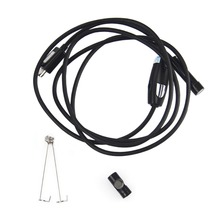 USB Waterproof Endoscope 7mm Lens endoscope pipe inspection camera with 6 LED