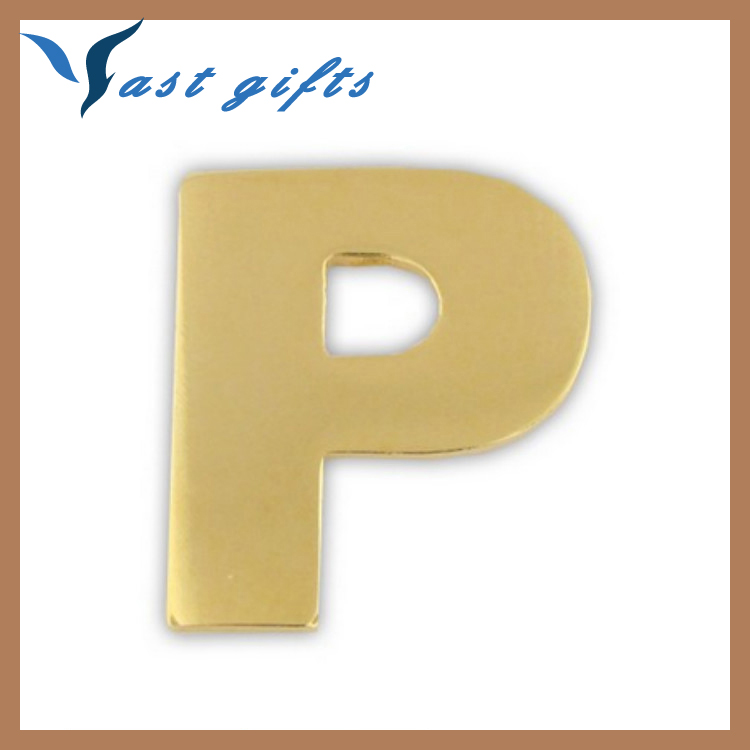 A to Z small decorative metal letters for bags