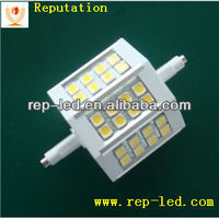 Aluminum 78mm dimmable 5w led r7s light