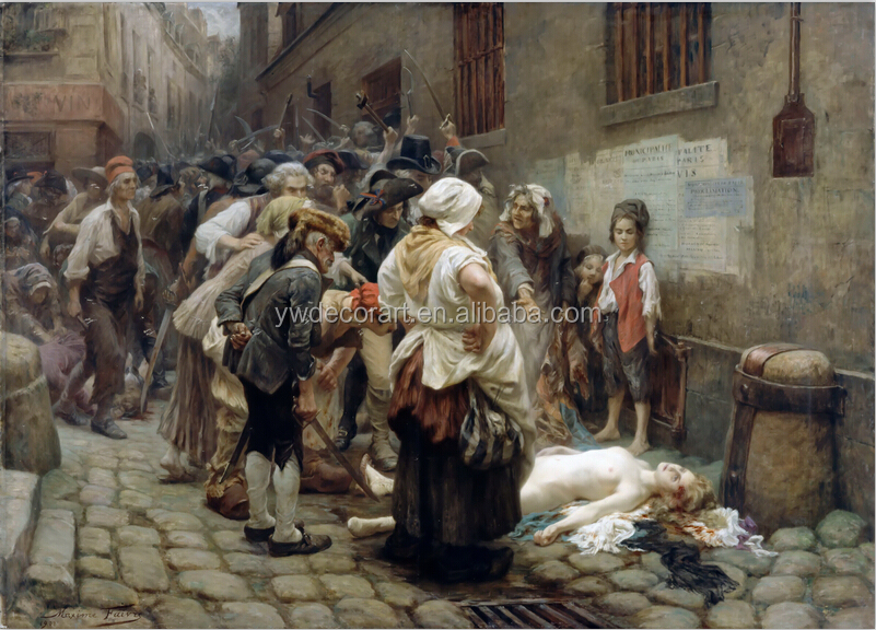 Death of the Pricess digital print on canvas painting 19 centery oil painting reproduction