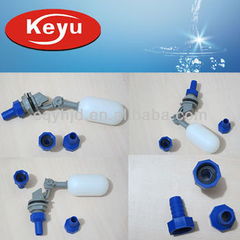 Mini Plastic Float Valve(floating valve)With Adapter