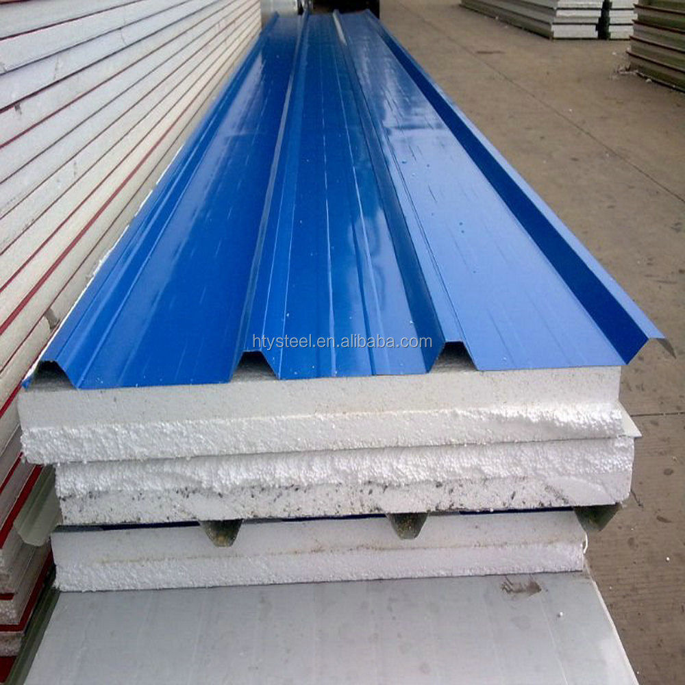 composite sandwich panel, ready made wall panel, roof steel corrugated sandwich panel