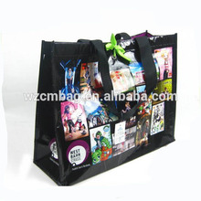 Recycled woven polypropylene shopping bags/china pp woven laminated bags