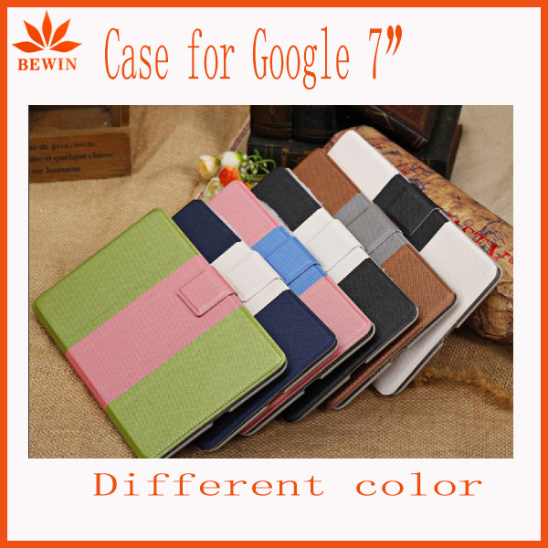 for google nexus 7 second generation Hybrid PU leather wallet smart case