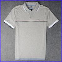 china apparel suppliers plain no brand custom short sleeve polo neck t-shirt for man