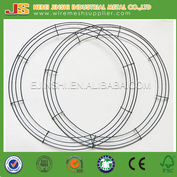Direct Factory Lower Price Decoration Wire Wreath Rings / Wire Wreath Forms