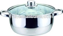 hot sale Happy Living stainless steel casserole/pot