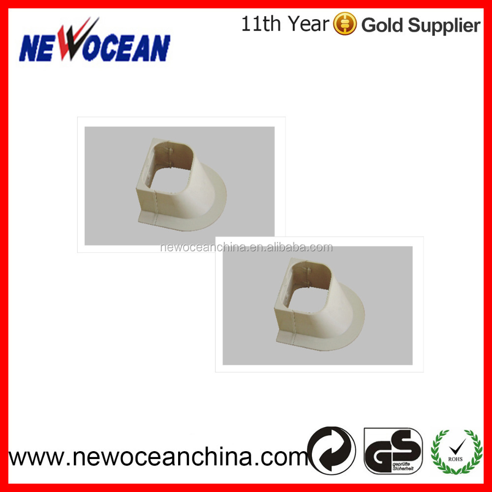GCT- 01Plastic flexible duct for A/C parts air conditioner support plastic air -con pipe cover