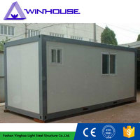 Comfortable And Convenient Prefab Flat Pack Office Container House