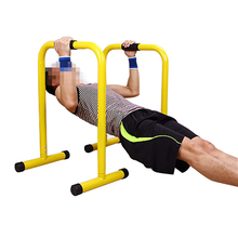 Chin Up Fit Dip Bars Push Dipping Home Gym Paralletters Stand Trainer