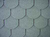 Round of asphalt shingle