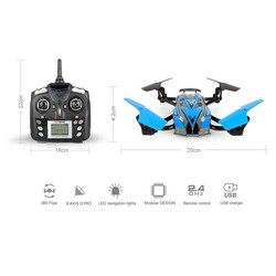 Export new styling LCD wholesale good flying camera remote control toy